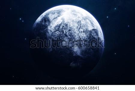 Uranus Planets Solar System High Quality Stock Photo Safe To Use