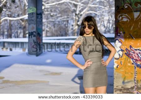 Urban Art fashion - stock photo