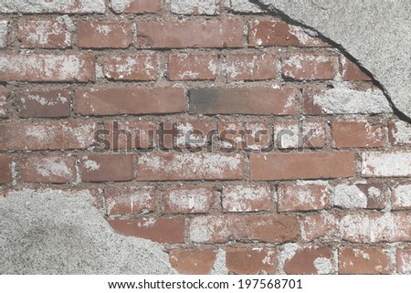 urban background grunge brick wall texture - stock photo