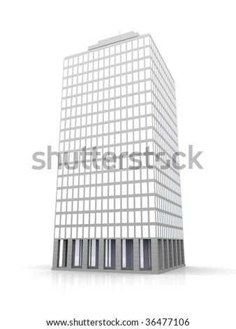 Urban building	 - stock photo