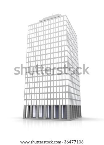 Urban building - stock photo