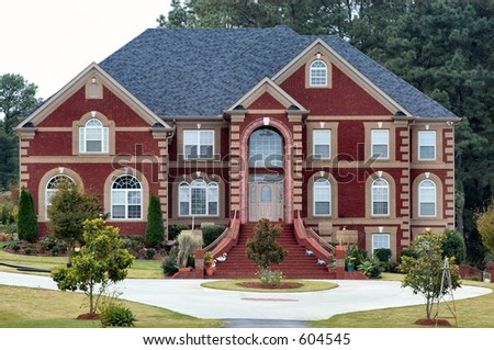 Urban Chalet - stock photo