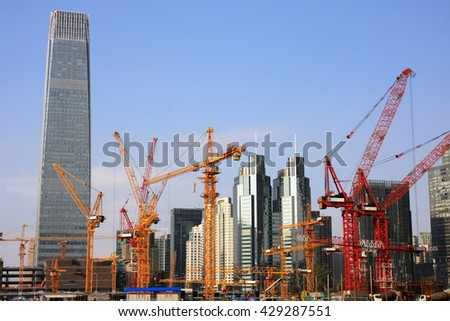 Urban construction in the Beijing Capital Business District