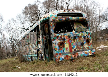 urban decay - stock photo
