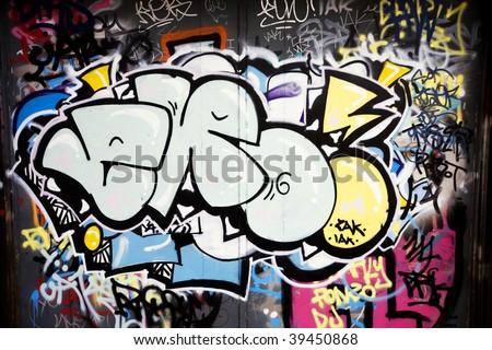 Urban Graffiti - stock photo