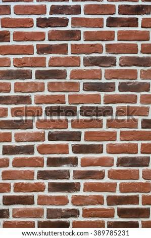 Urban grunge brick wall. wall background of house interior - stock photo