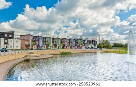 Urban Housing - stock photo