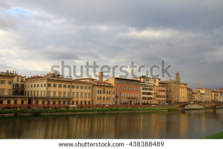 Urban landscape of Florence, Italy