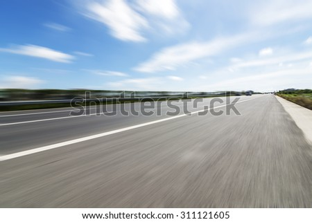 Urban road construction - stock photo