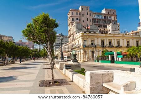 Urban view of Havana - stock photo