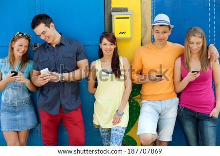 Urban young people - stock photo