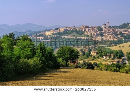 Urbino  - stock photo
