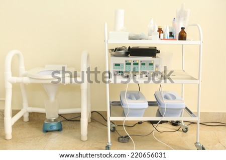 urologist medical cabinet - stock photo