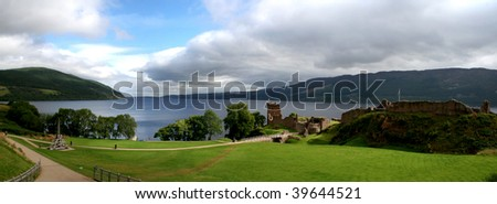 Urquhart Castle, Scotland, United Kingdom
