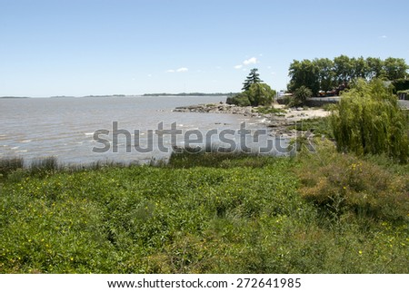 Uruguay - Coast Of Colonia Del Sacramento / Uruguay - Colonia Del Sacramento - stock photo