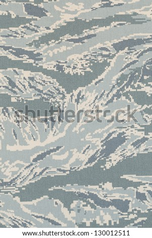 US air force digital tigerstripe abu camouflage fabric texture background - stock photo