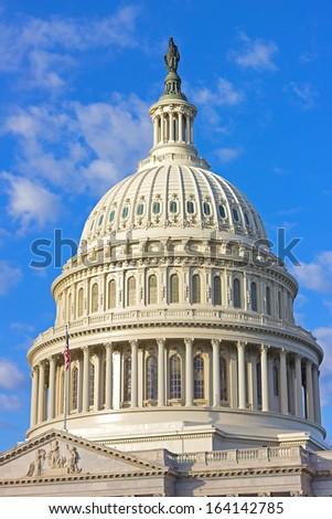 US Capitol building, Washington DC - stock photo