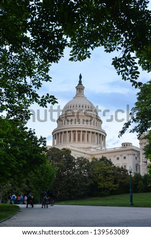 US Capitol Building - Washington DC, United States - stock photo
