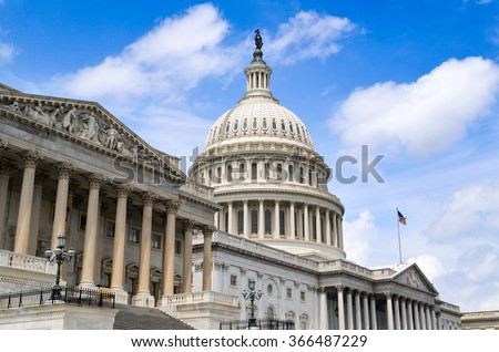 US Capitol Building - Washington DC - USA