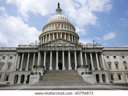 US Capitol (Washington DC) - stock photo