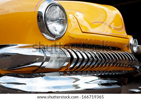 US Classic Car - stock photo