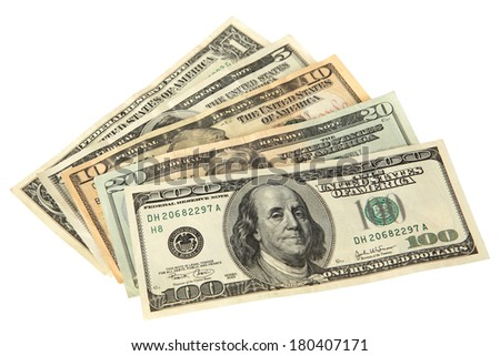 US Currency - stock photo