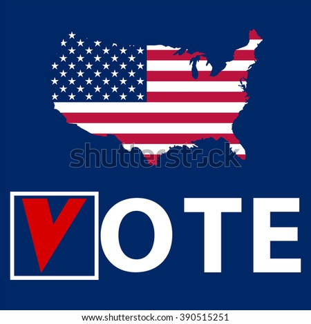 US Elections - stock photo
