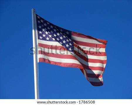 US Flag - stock photo