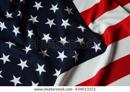 US Flag - stock photo