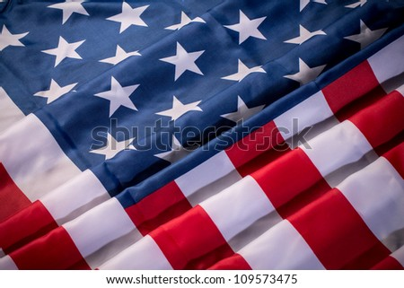 US Flag, American flag - stock photo