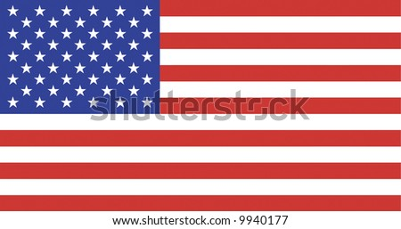 US Flag - National Symbol Of The United States Of America