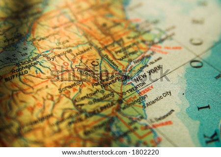 East Coast Map Stock Images RoyaltyFree Images Vectors - Us map new york