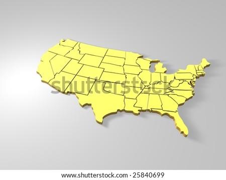 USA - stock photo