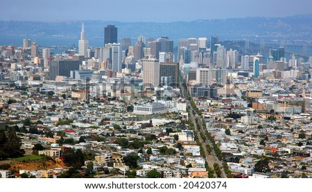Usa, America, San Francisco - stock photo