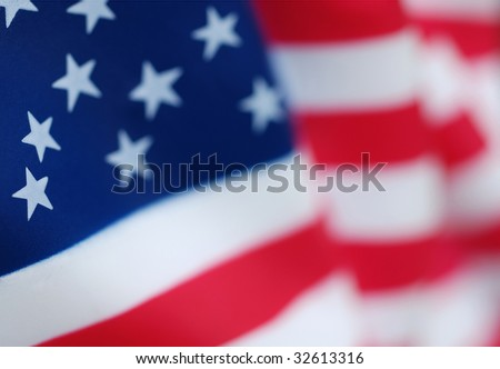 USA American Flag - stock photo