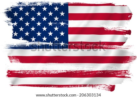 USA American Flag Background Texture