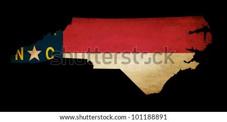 North Carolina State Outline Map North Carolina State Map
