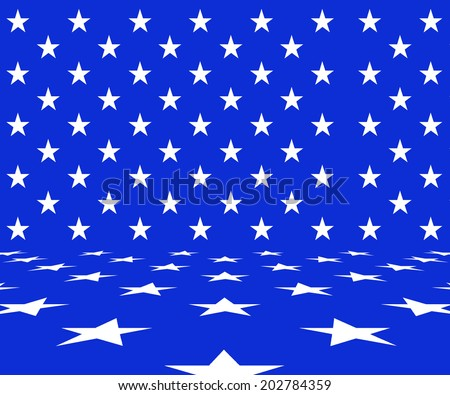 USA background - stock photo