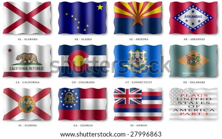 USA Flags (Part I)