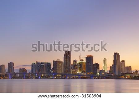 Usa. Florida. Miami - stock photo
