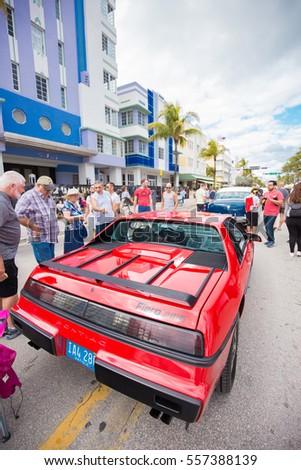 miami south beach florida usa january stock photo 291986744 shutterstock. Black Bedroom Furniture Sets. Home Design Ideas