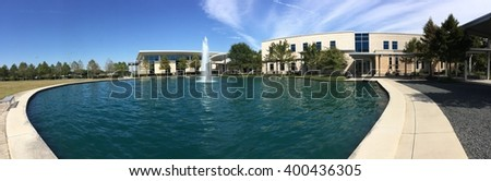 USA, HOUSTON on 1 Jan 2016: View of Lonestar College in Houston, Texas - stock photo