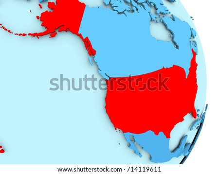 Us Political Map Red Blue Globalinterco - Political map us red blue history