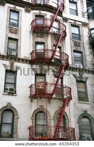 USA, New York, Greene Street, Soho - stock photo