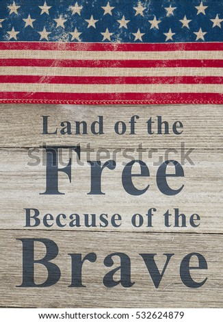 Made america message usa patriotic old stock photo for How to get free land in usa