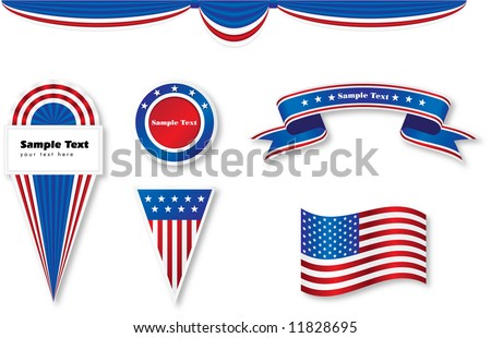 usa signs - stock photo