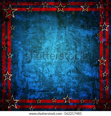 USA style background - stock photo