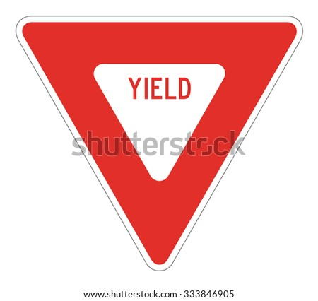 USA Yield Sign