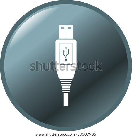 usb cable plug button