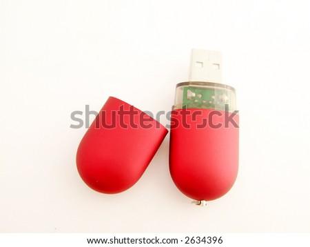 USB connector - stock photo